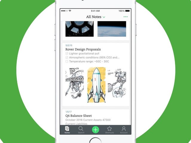 Evernote for iPhone Ditches the Home Screen, Makes It Easier to Create and Manage Notes