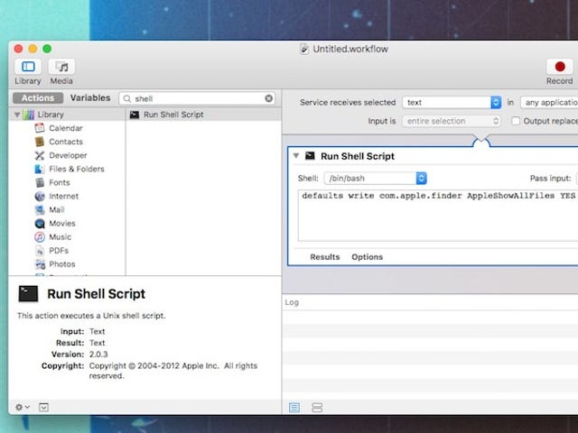 Trigger Any Terminal Command With a Keyboard Shortcut Using Automator