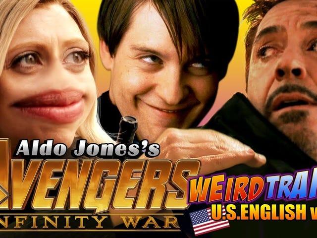 Avengers: Infinity War -Weird Trailer