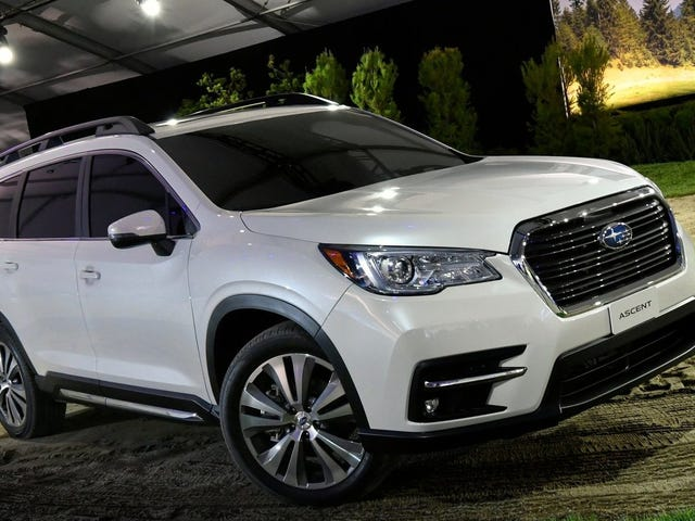 A Quantitative Analysis Of The 2019 Subaru Ascent's 19 Cupholders