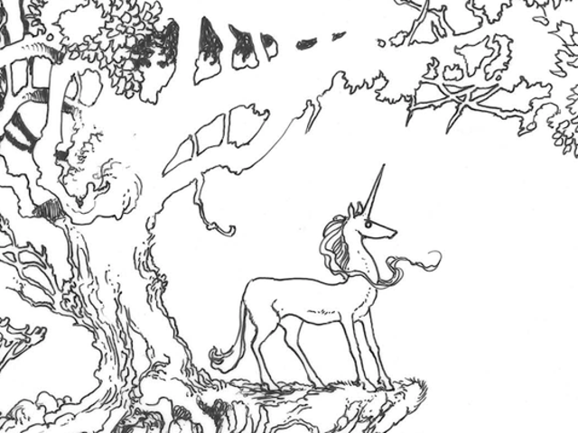 The Atlantic Monthly on The Last Unicorn