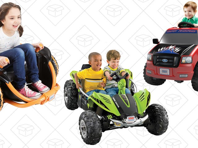 Make Some Kid's Year (or Entire Childhood) With Amazon's One-Day Power Wheels Sale