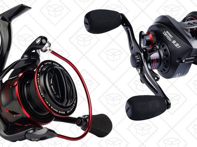 Don't Let These Fishing Reel Deals Be the Ones That Got Away