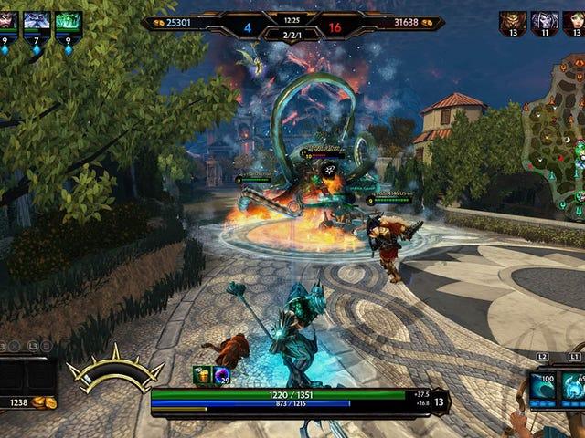 Smite s God Battles Spill Over Bli PlayStation 4