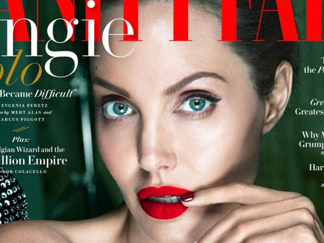 ใน Vanity Fair, แองเจลิน่าโจลี่ต้องการพูดคุยเกี่ยวกับภาพยนตร์เรื่องใหม่ของเธอและไม่มากนัก