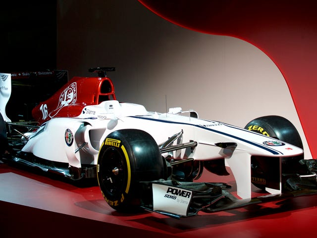 The 2018 Sauber F1 Car Will Be Pretty But Bland Despite All The Alfa Romeo Badging