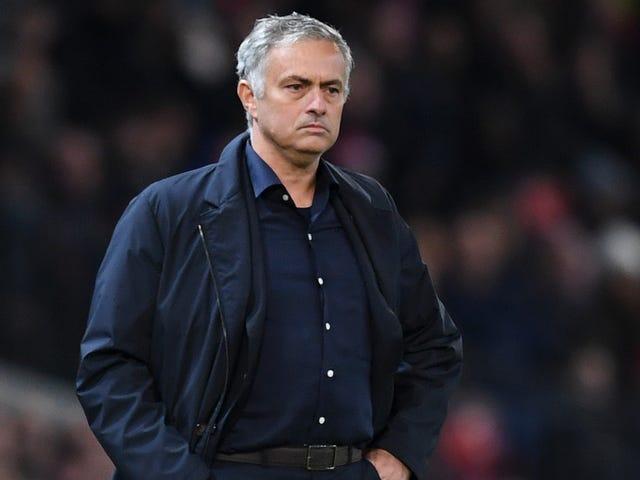 José Mourinho är hörnad
