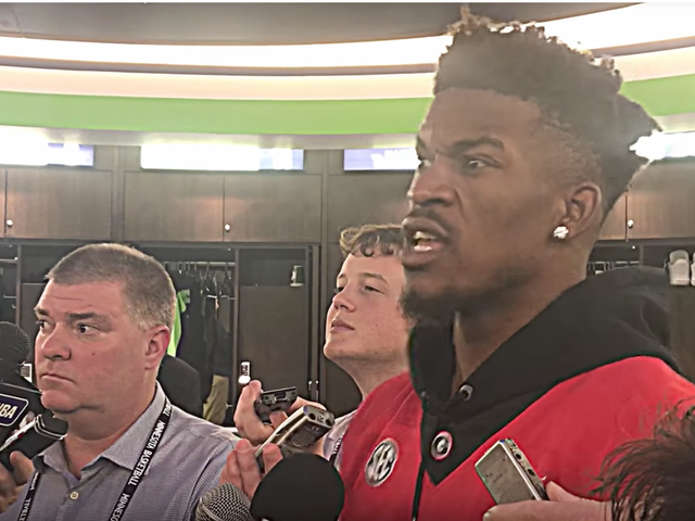 Jimmy Butler Did Not Enjoy That Football Game