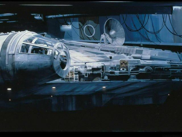 Cómo la trilogía original de Star Wars engañó a todos con pinturas mates