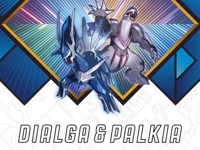 Kick off Another Year of Legendary Pokemon with Dialga & Palkia