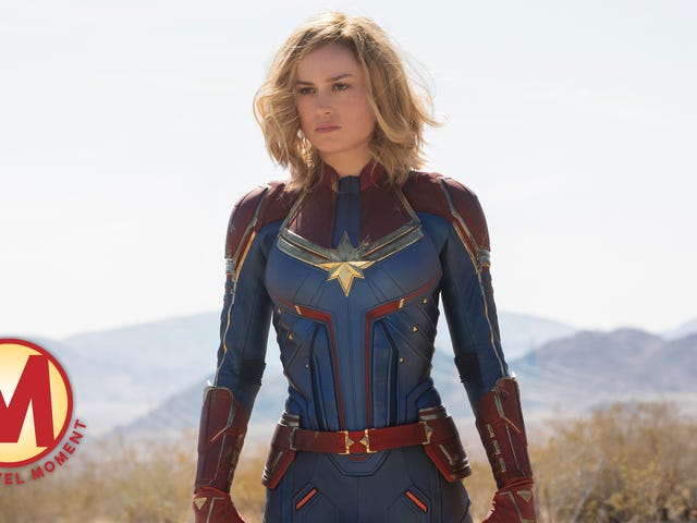 Captain Marvel stands her ground, and the MCU welcomes a new kind of hero