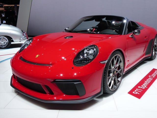 Porsche's Building a Gorgeous New 911 Speedster, But Only 1,948 of Them