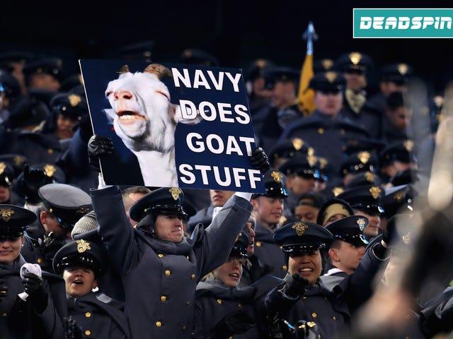 Army Beat Navy;  Hvem bekymrer sig om de andre spil?