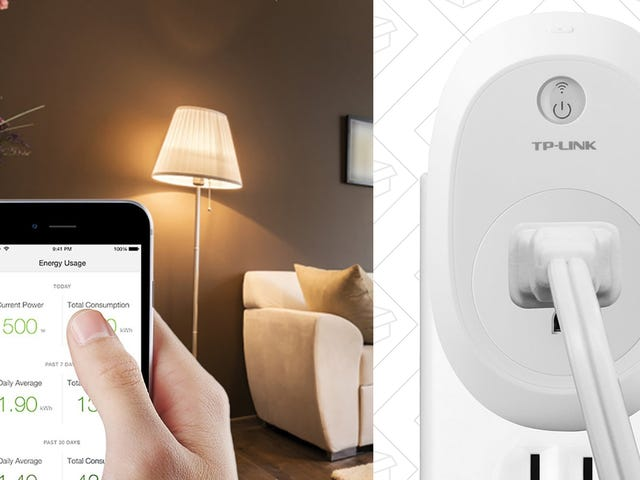 Automate a Couple of Outlets With These Affordable, Energy Monitoring Smart Switches