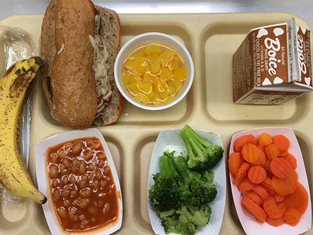 Trump's Clampdown on Food Stamps Would Also Affect Kids Getting Free School Lunches