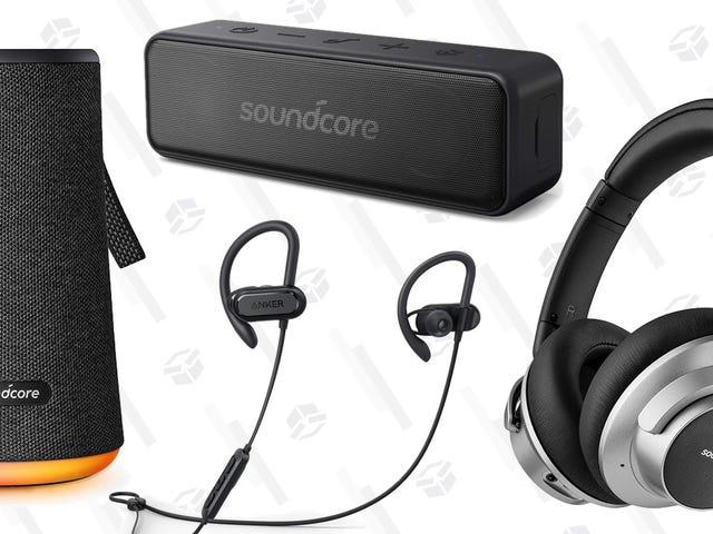 Остання передача звуку Anker продається лише на один день, включаючи навушники з шумопоглинанням у розмірі 69 доларів