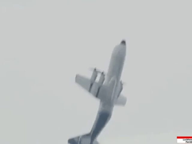 Why yes, you can loop a C-130