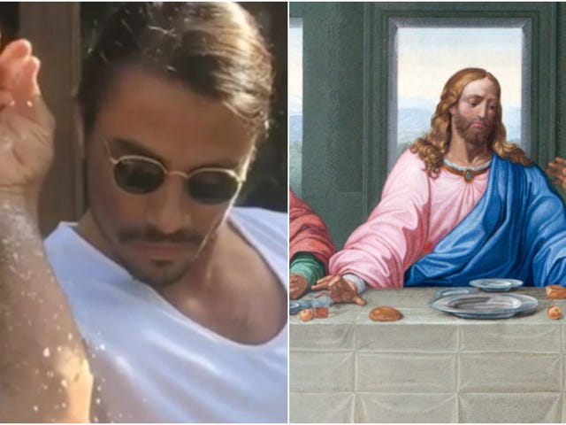 Photoshopped image of Last Supper with Salt Bae leads to journalist's arrest