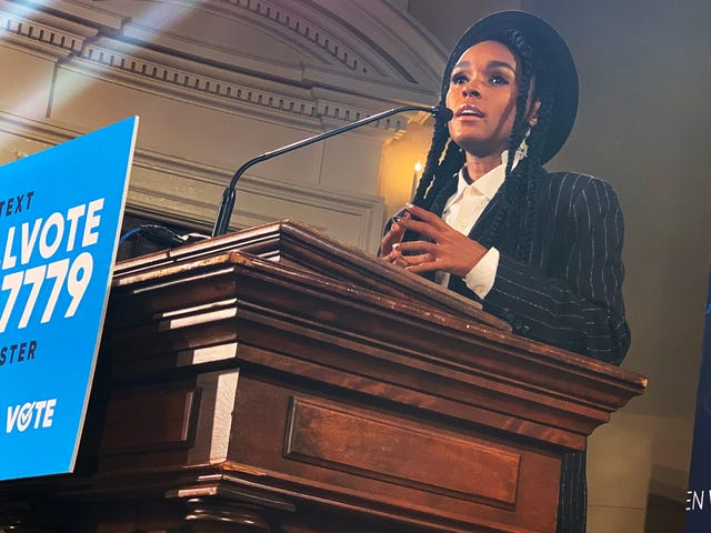 Janelle Monáe, Angela Rye and The Root Show Spelman What Happens When We All Vote