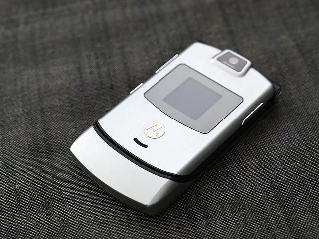 El mítico Motorola Razr regresará 15 años más tarde, pero no será tan barato