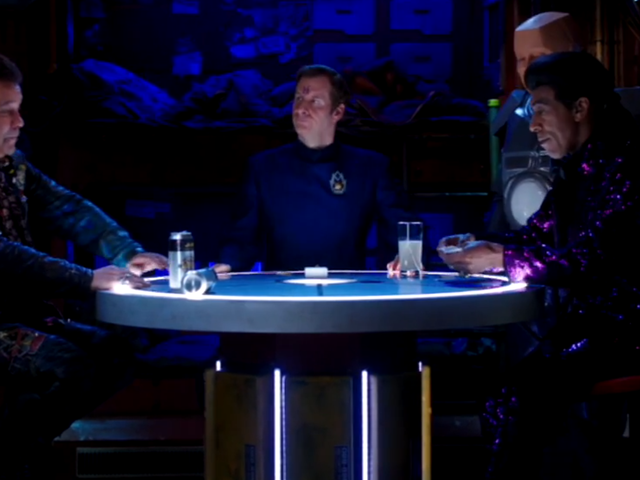 Red Dwarf Series XII, Skipper Review