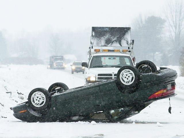 Michigan'ın 75 MPH Hız Sınırı Daha Fazla Hız, Çökme ve Yaralanmaya Neden Oldu: Rapor