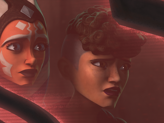 Clone Wars leert Ahsoka de ware golf tussen de Jedi en de mensen die ze moeten beschermen