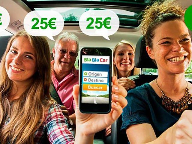 Deniegan la suspensión cautelar de BlaBlaCar. El servicio podrá seguir funcionando