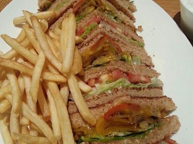 Sandwich del día: Club
