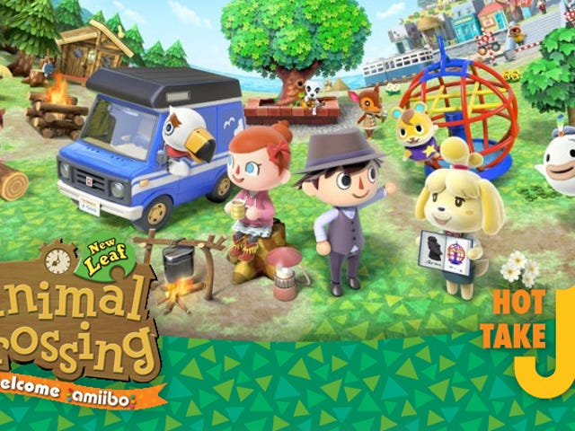 Hot Take: Animal Crossing: New Leaf: Welcome Amiibo Update (3DS)