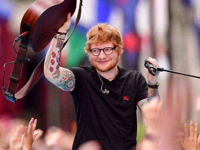 """Ed Sheeran säger att hans biopic kommer att vara som """" 8 Mile meets Notting Hill """""""
