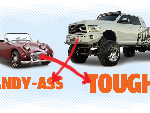 A Big-Ass Truck Does Not Make You Tough