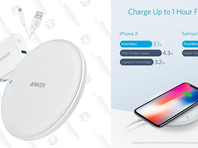 Charge Your iPhone Faster With Anker's PowerWave Qi Pad, Back Down To Its Lowest Price Today