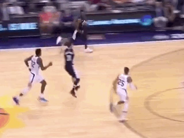 Recently Owned Jeff Green Pays It Forward To Harmless, Helpless Dragan Bender
