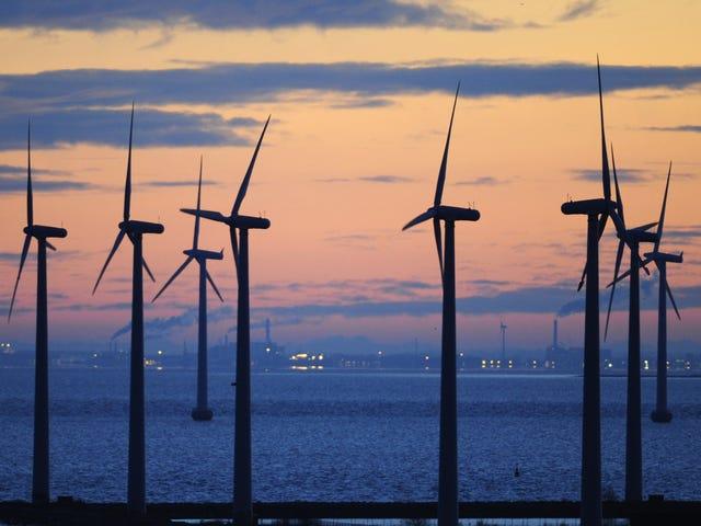 Dinamarca establece un nuevo récord de energía eólica, avergonzándonos a todos