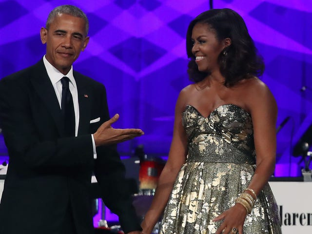 The Obamas Went to a Beyoncé and Jay-Z Concert and Reminded Us of What Normal Fun People Are Like