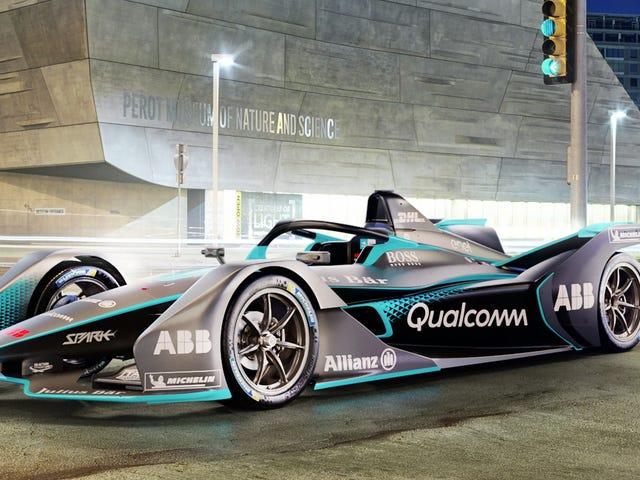La nouvelle voiture de course de la Formule E a l'air vraiment géniale - et elle a un halo