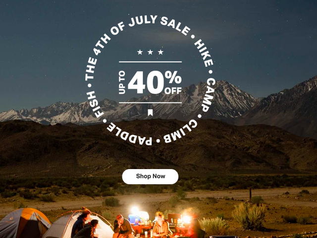 Backcountry is Celebrating the Fourth of July With an Up to 40% Off Sale