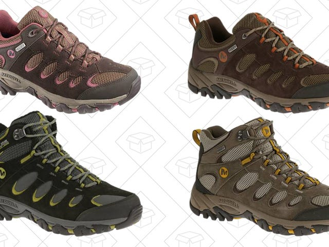 Actually Enjoy Hiking With 50% Off Ridgepass Boots from Merrell