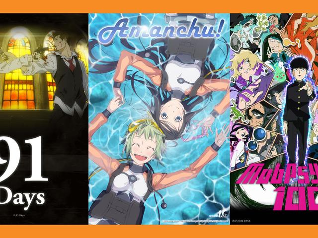 Koda's Crunchyroll Summer 2016 Favorites