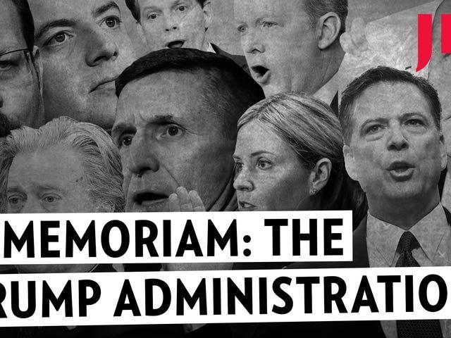У Memoriam: Всі Trump Staffers ми загубили цей рік
