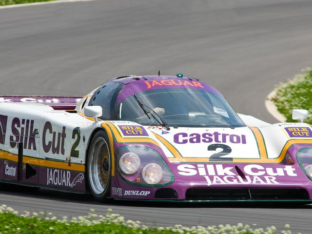 Take A Closer Look At The Le Mans-Winning Silk Cut Jaguar XJR-9