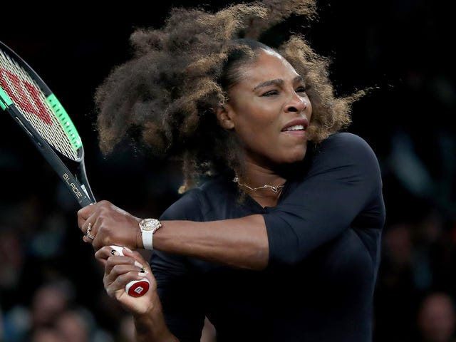 Serena Williams's Comeback Starts Now, Ready Or Not