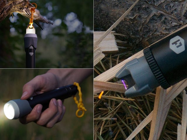 Save 20% On a Flashlight, Lantern, and Electric Arc Lighter All Rolled Into One