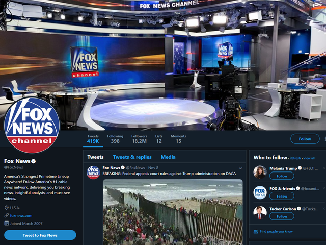 The Only Bad Thing About Fox News' Silent Twitter Protest Is That It Will Eventually End