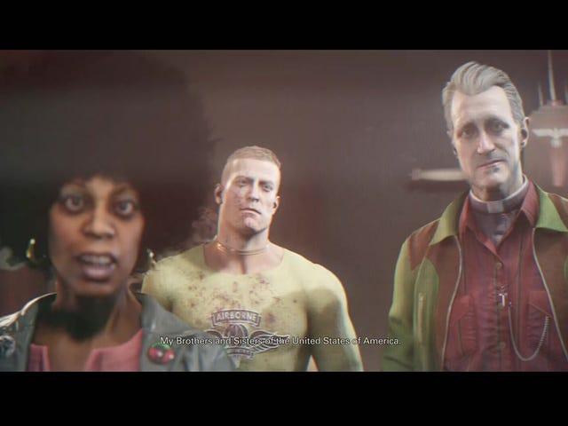 Wolfenstein 2: lerig etik, förvirrad gameplay, bra karaktärer