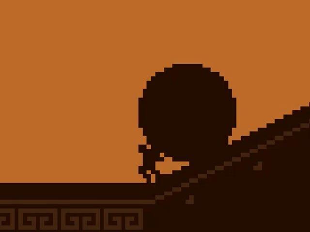 किसी ने एक वीडियो गेम बनाया जहां आप सिसिपस के रूप में खेलते हैं