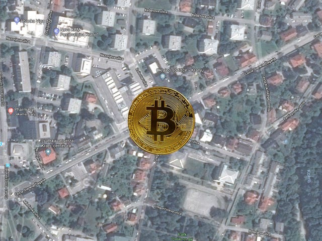 Monument to Bitcoin Erected in Center of Slovenian Roundabout