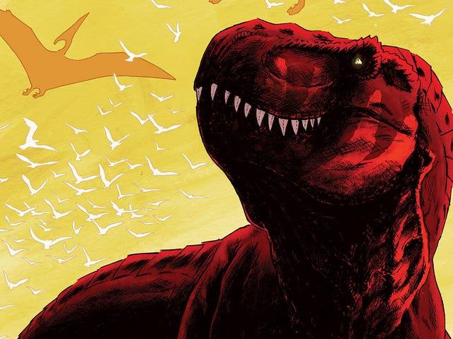 Predator prasejarah bertarung dalam pratinjau Cretaceous eksklusif ini