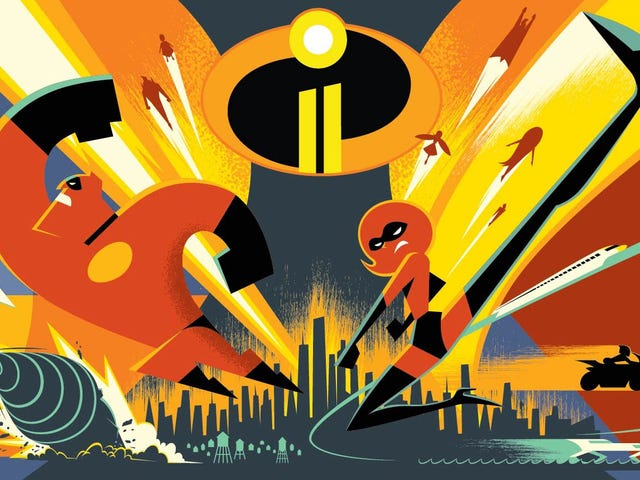 We've Seen the Power-Packed First Footage From The Incredibles 2